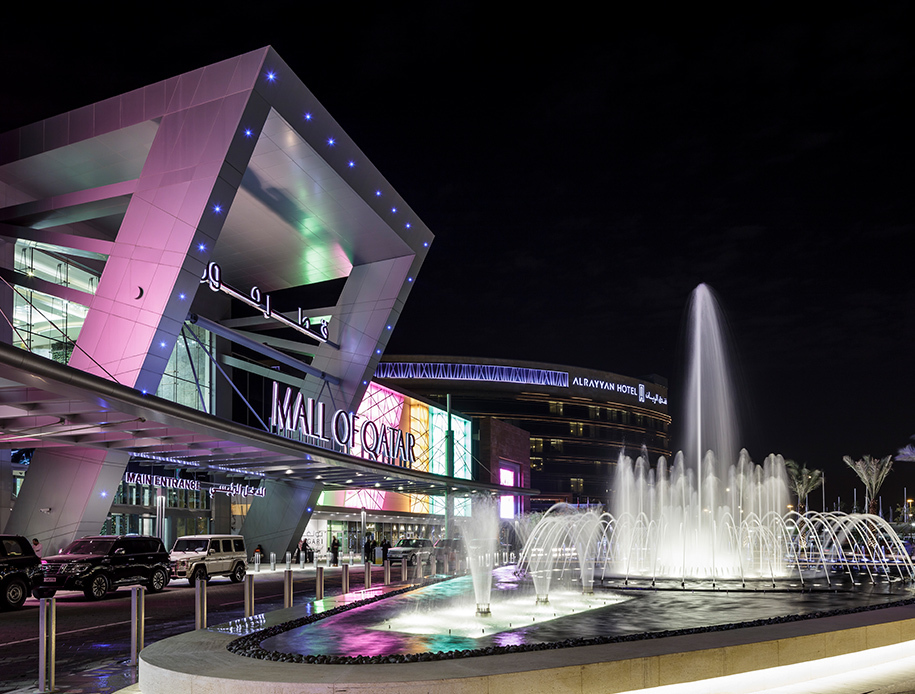 Mall of Qatar landscape design architecture