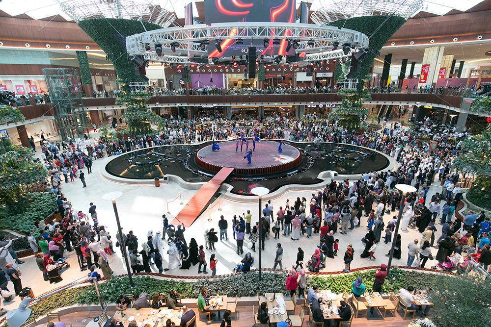 Oasis landscape mall of qatar