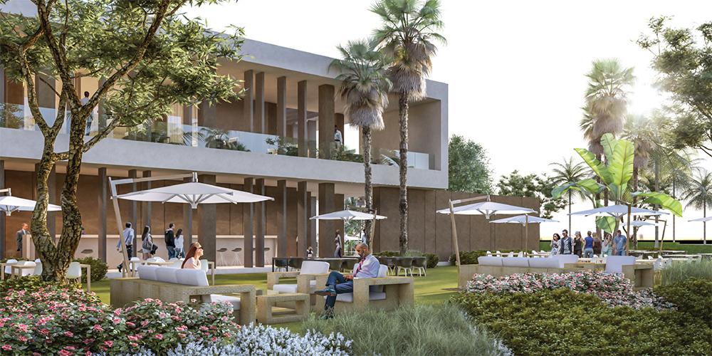 Club house mivida landscape architecture design