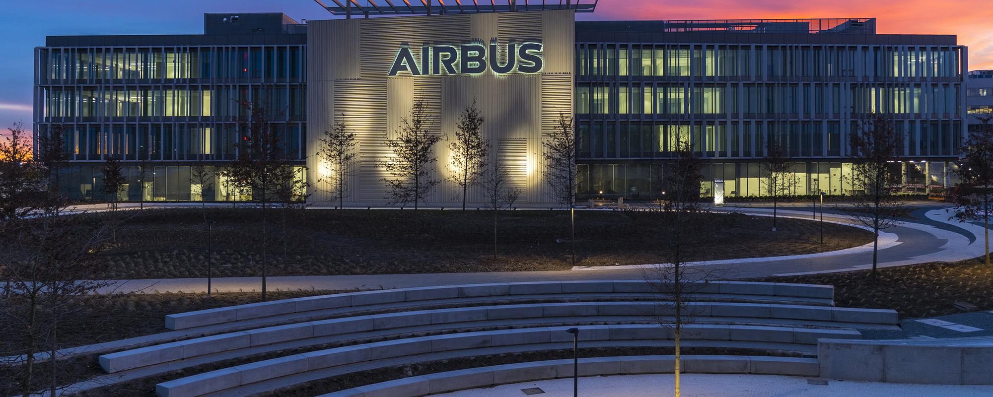 Airbus big slider