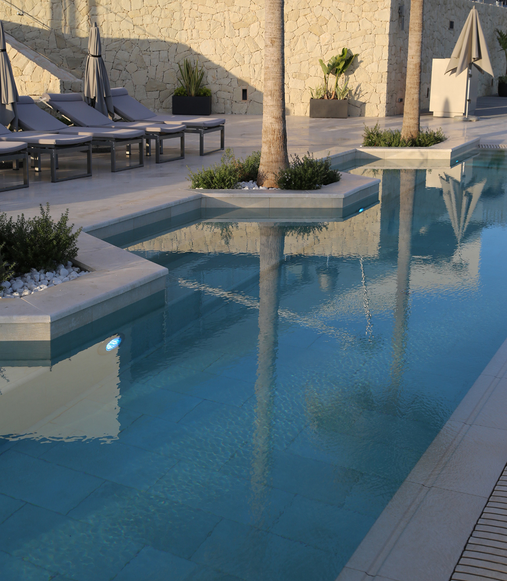 hotel ibiza piscina paisajismo landscape